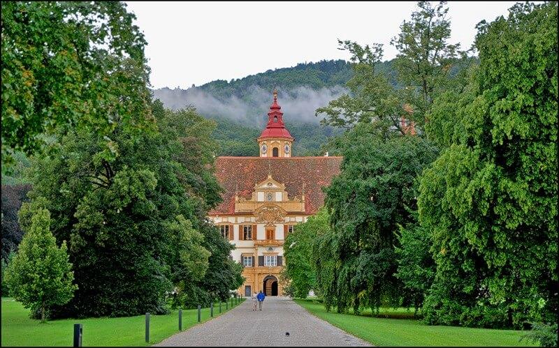 Замок Эггенберг австрия