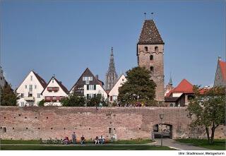 германия Башня Мецгертум