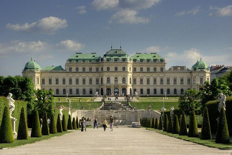 австрийский дворец бельведер
