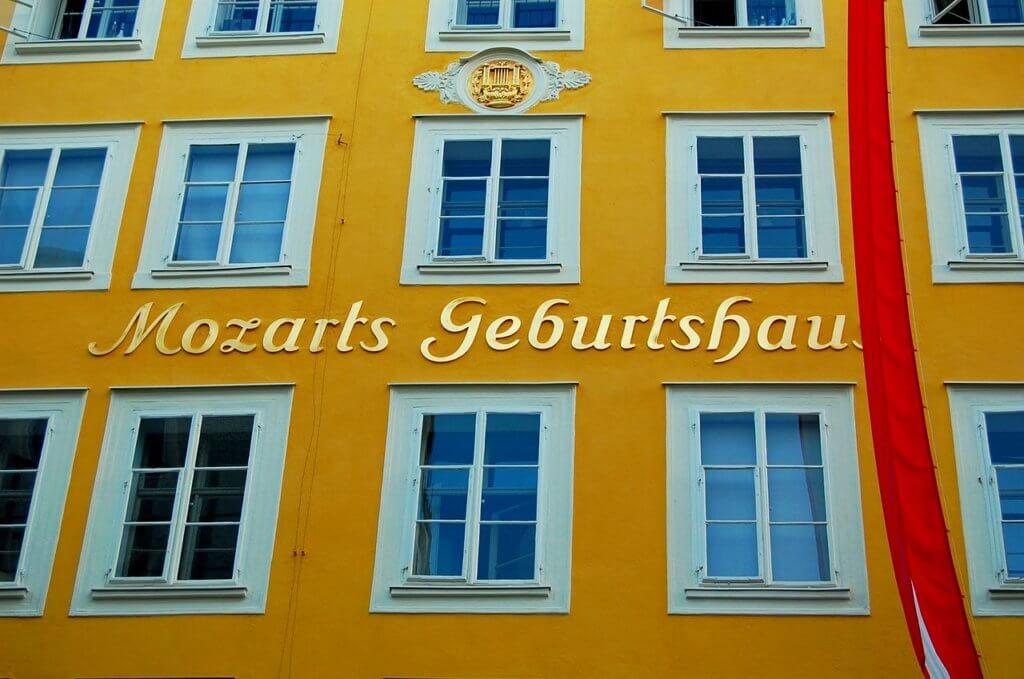 Дом-музей Моцарта зальцбург