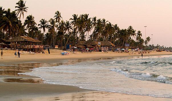 Пляжи южного Гоа: описание