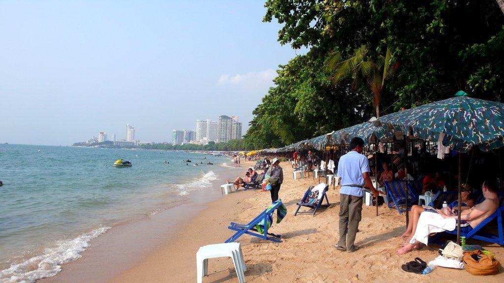 пляж паттайа