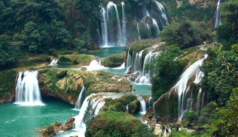 водопады нячанг