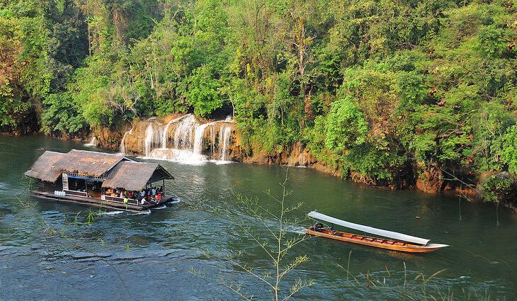 река квай сплав